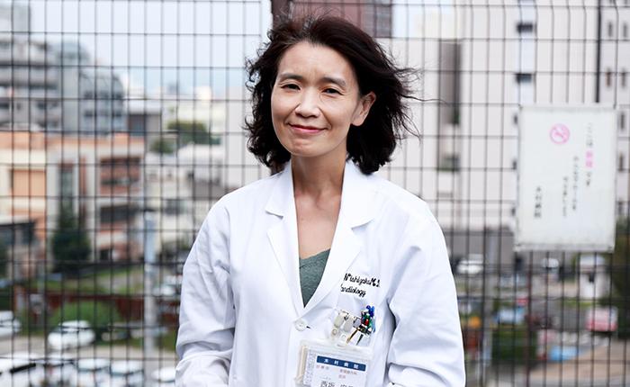 西坂 麻里先生の写真1