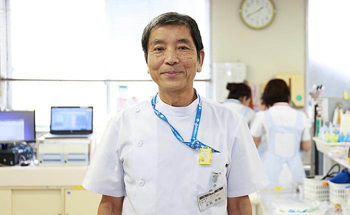 永渕 幸寿先生の写真1